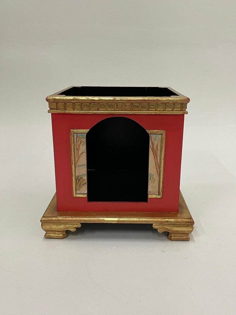 Palatial Hollywood Regency Doghouse for Lucky Pet For Sale 4