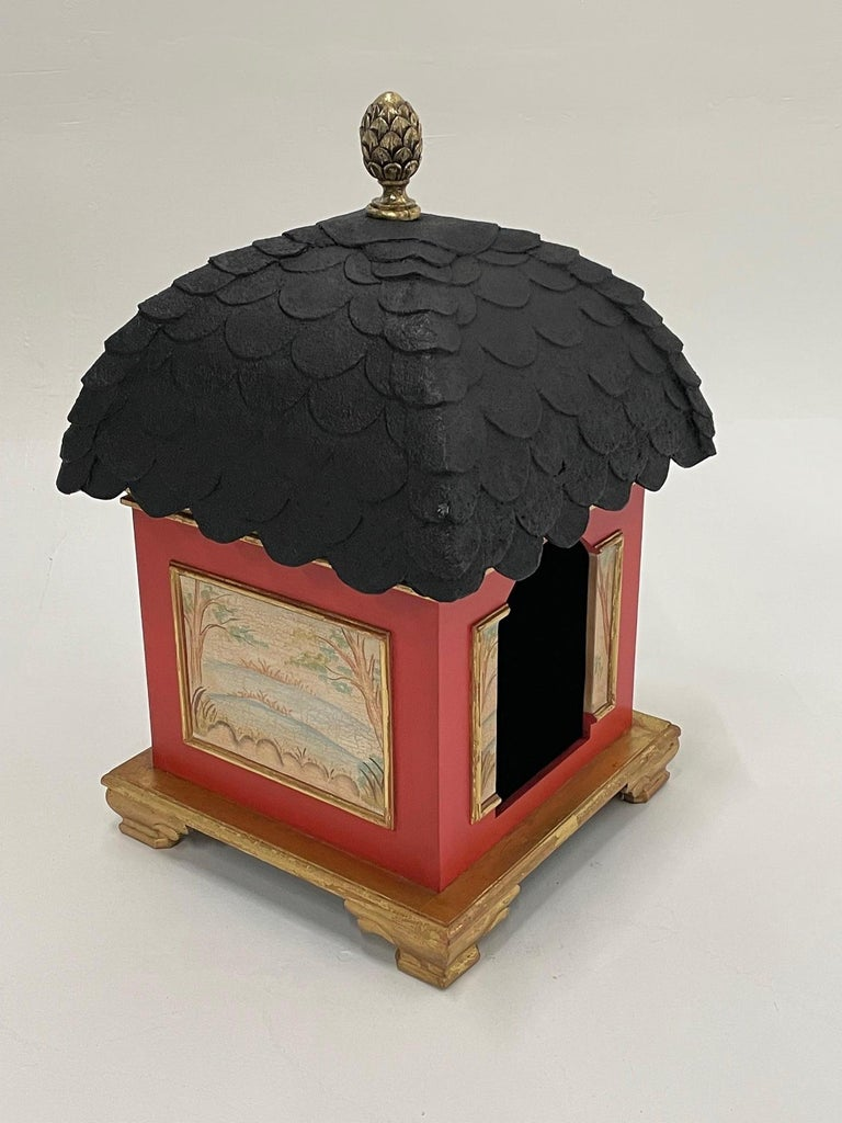 Palatial Hollywood Regency Doghouse for Lucky Pet For Sale 6