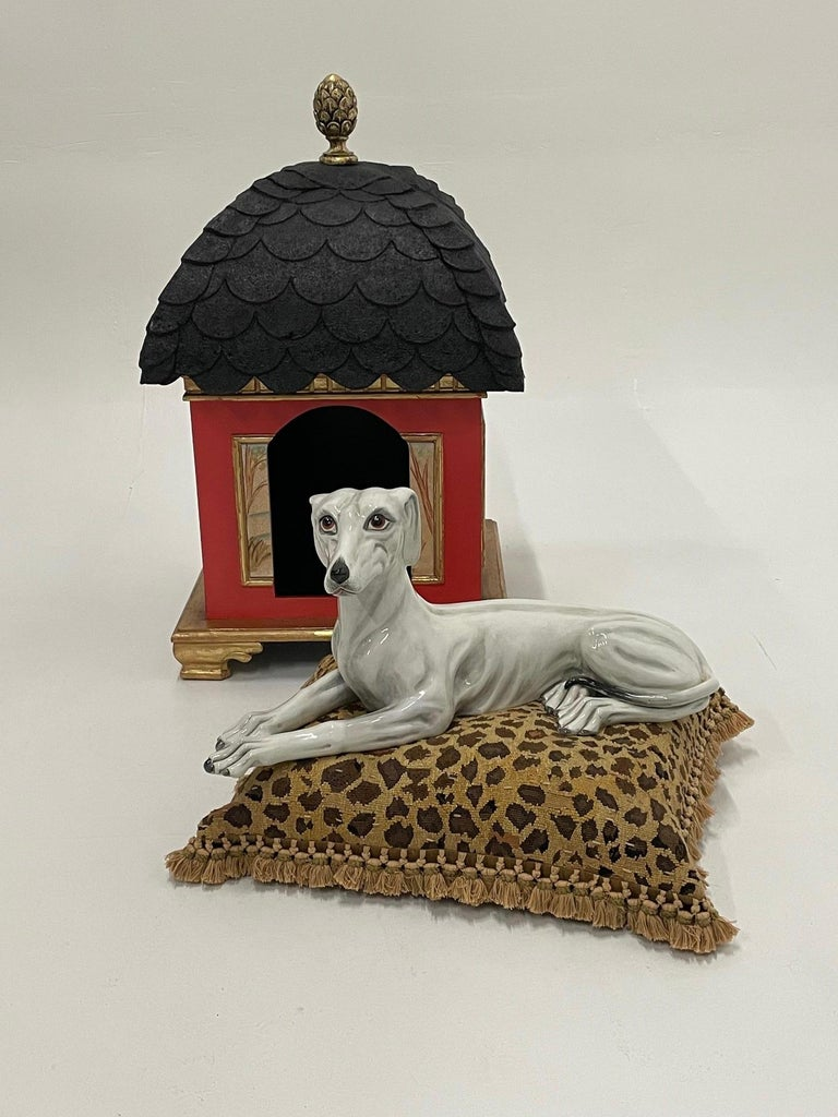 Philippine Palatial Hollywood Regency Doghouse for Lucky Pet For Sale