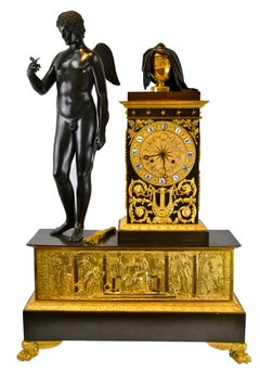 Palatial Scale Cupid and Eurydice Clock