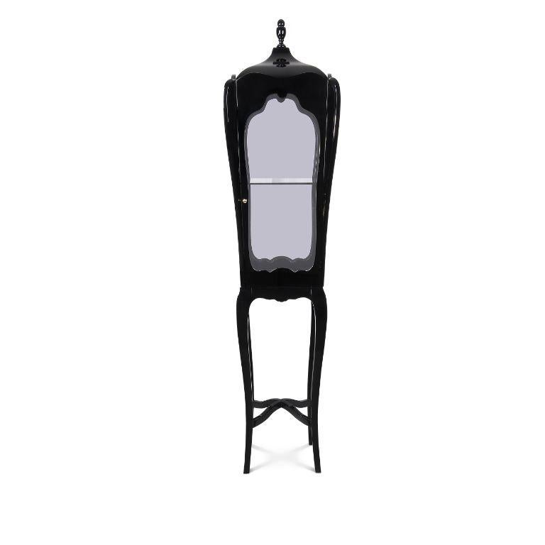 Modern Palatino Display Case Slim  For Sale