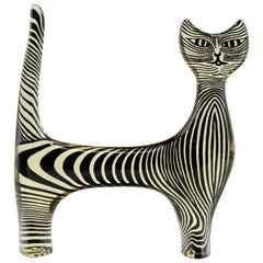 Palatnik Op Art Lucite Cat