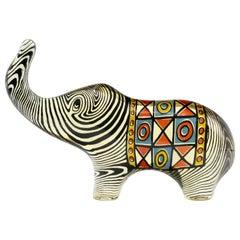 Palatnik Op Art Lucite Elephant