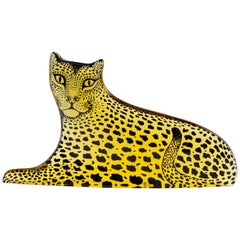 Palatnik Op Art Lucite Leopard