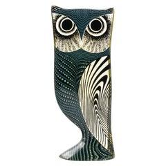 Palatnik Op Art Lucite Owl