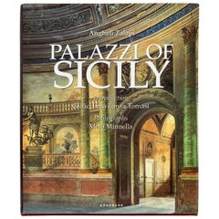 Palazzi of Sicily by Angheli Zalapi Hardcover Book, Italy