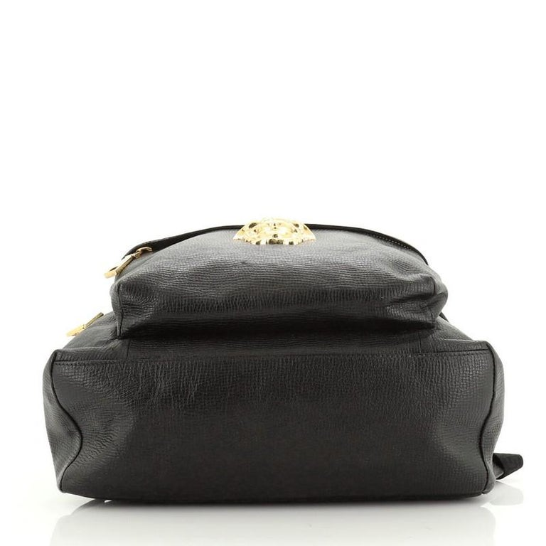 Women's or Men's Palazzo Medusa Backpack Leather Large