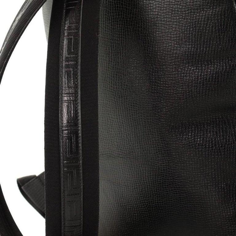 Palazzo Medusa Backpack Leather Large 3