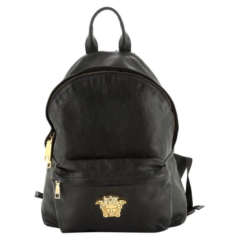 Palazzo Medusa Backpack Leather Large