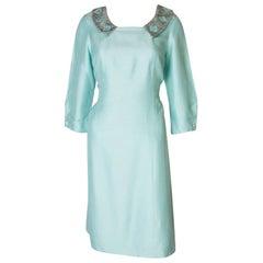 Pale Blue Vintage Dress by La Petite Francaise