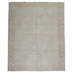 Pale Room Size Turkish Rug