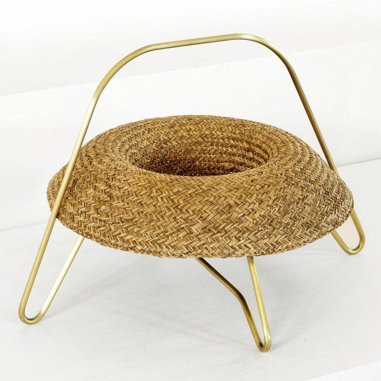 'Paleae Brasilis' Fruit Tray by Brunno Jahara, Brazilian Contemporary Design For Sale 1