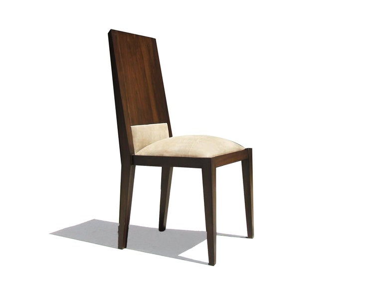 Modern Palermo Dining Chair in Argentine Rosewood from Costantini For Sale