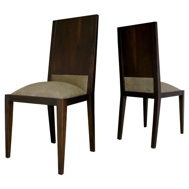 Palermo Dining Chair in Argentine Rosewood from Costantini For Sale