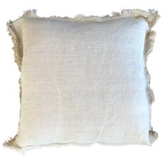 """Palermo"" Handmade Linen/Cotton Pillow by Le Lampade"