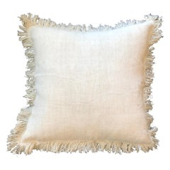 """Palermo"" Handmade Linen/Cotton Pillow by Le Lampade"