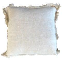 """""""Palermo"""" Handmade Linen/Cotton Pillow"""