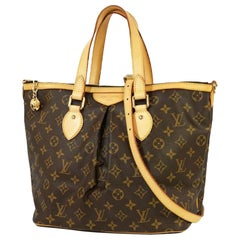 Louis Vuitton Palermo PM  Womens  handbag M40145 Leather