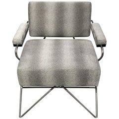 Palisades Accent Chair I in Carbon and Caviar by Innova Luxuxy Group