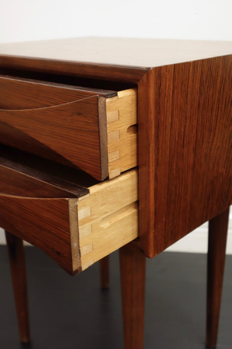 Mid-20th Century Palisander Danish Bedside by Arne Vodder for Sibast 1960s For Sale
