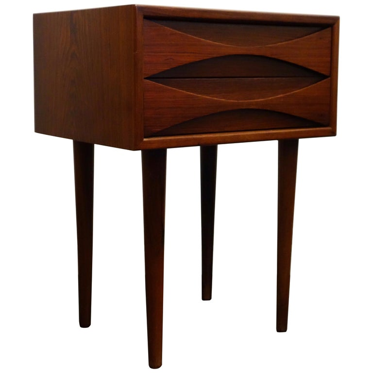 Palisander Danish Bedside by Arne Vodder for Sibast 1960s For Sale