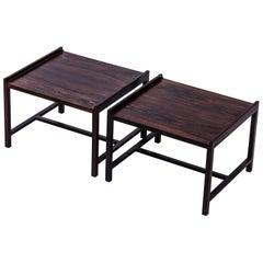 Palisander Side Tables by Ingemar Relling, Norway, 1960s