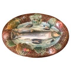 Palissy Ware Fish platter