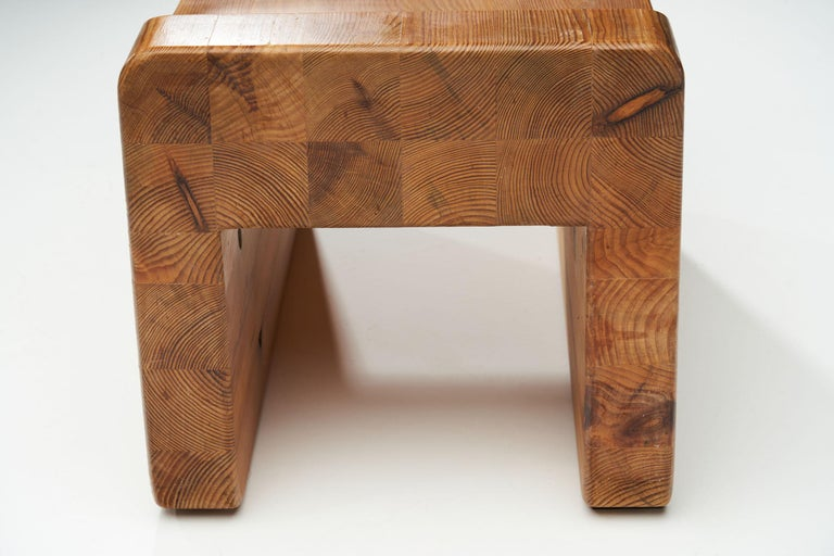 """""""Pall"""" Stool by K. J. Pettersson & Söner, Sweden, 1970s For Sale 5"""