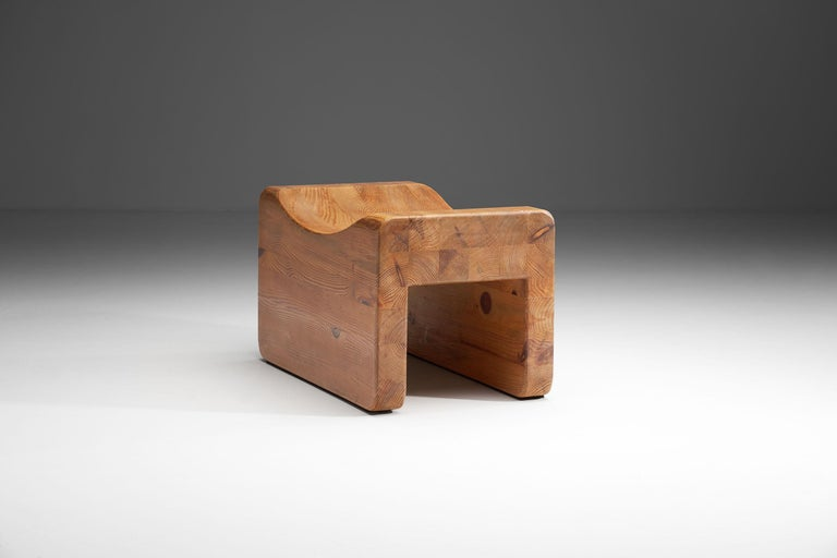 """Swedish """"Pall"""" Stool by K. J. Pettersson & Söner, Sweden, 1970s For Sale"""