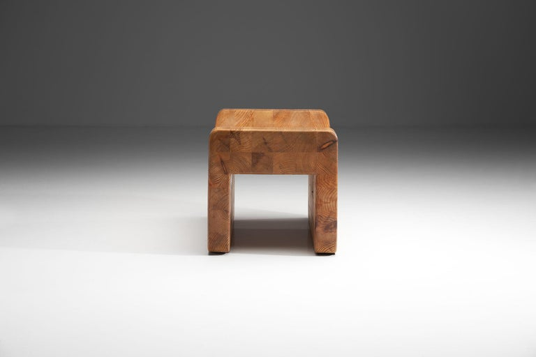 """""""Pall"""" Stool by K. J. Pettersson & Söner, Sweden, 1970s In Good Condition For Sale In Utrecht, NL"""