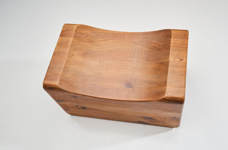 """""""Pall"""" Stool by K. J. Pettersson & Söner, Sweden, 1970s For Sale 1"""