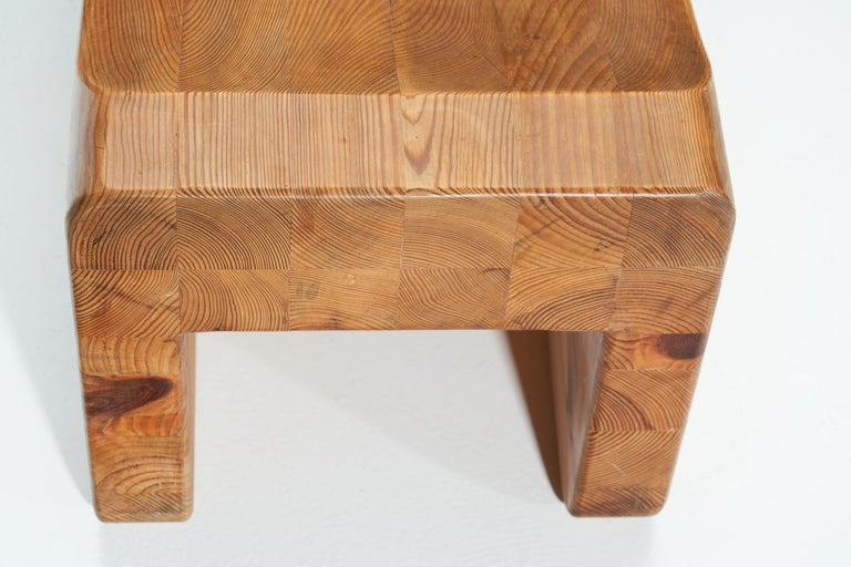 """""""Pall"""" Stool by K. J. Pettersson & Söner, Sweden, 1970s For Sale 2"""