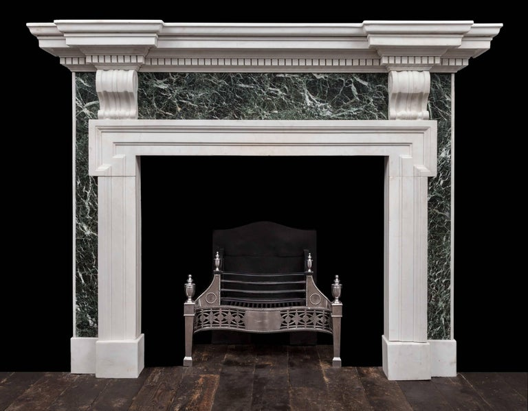 Palladian Marble Fireplace In Excellent Condition For Sale In Tyrone, Northern Ireland