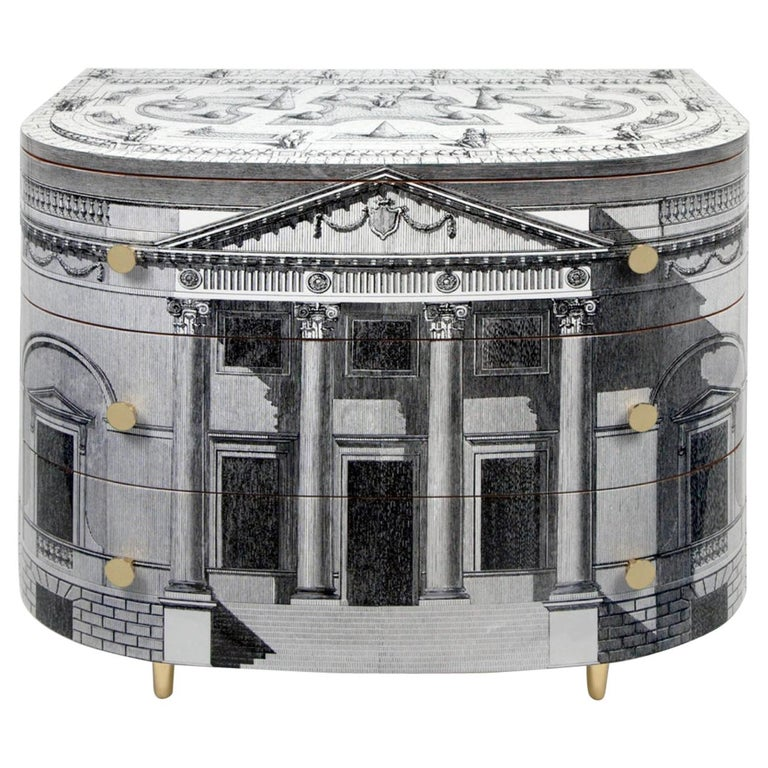 'Palladiana' Architectural Chest of Drawers by Fornasetti For Sale