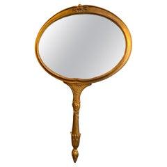 "Palladio Italian ""Hand Mirror"" Wall Mirror"
