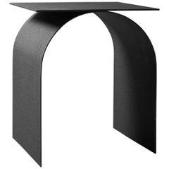Spinzi  Palladium side table square top