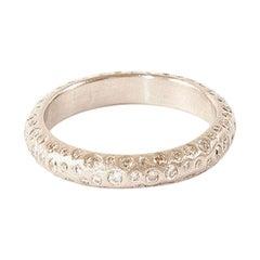 Todd Reed Palladium White Diamond Encrusted Ring