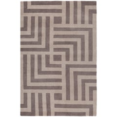 Pallas Hand-Knotted Area Rug in Wool by The Rug Company