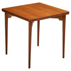 Palle Suenson Side Table in Solid Teak