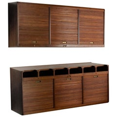 Palle Suenson, Two Part Wall Cabinet