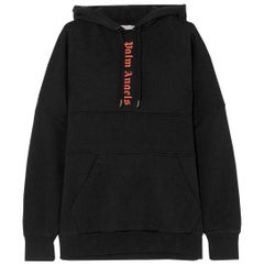 Palm Angels Printed Cotton Jersey Hoodie