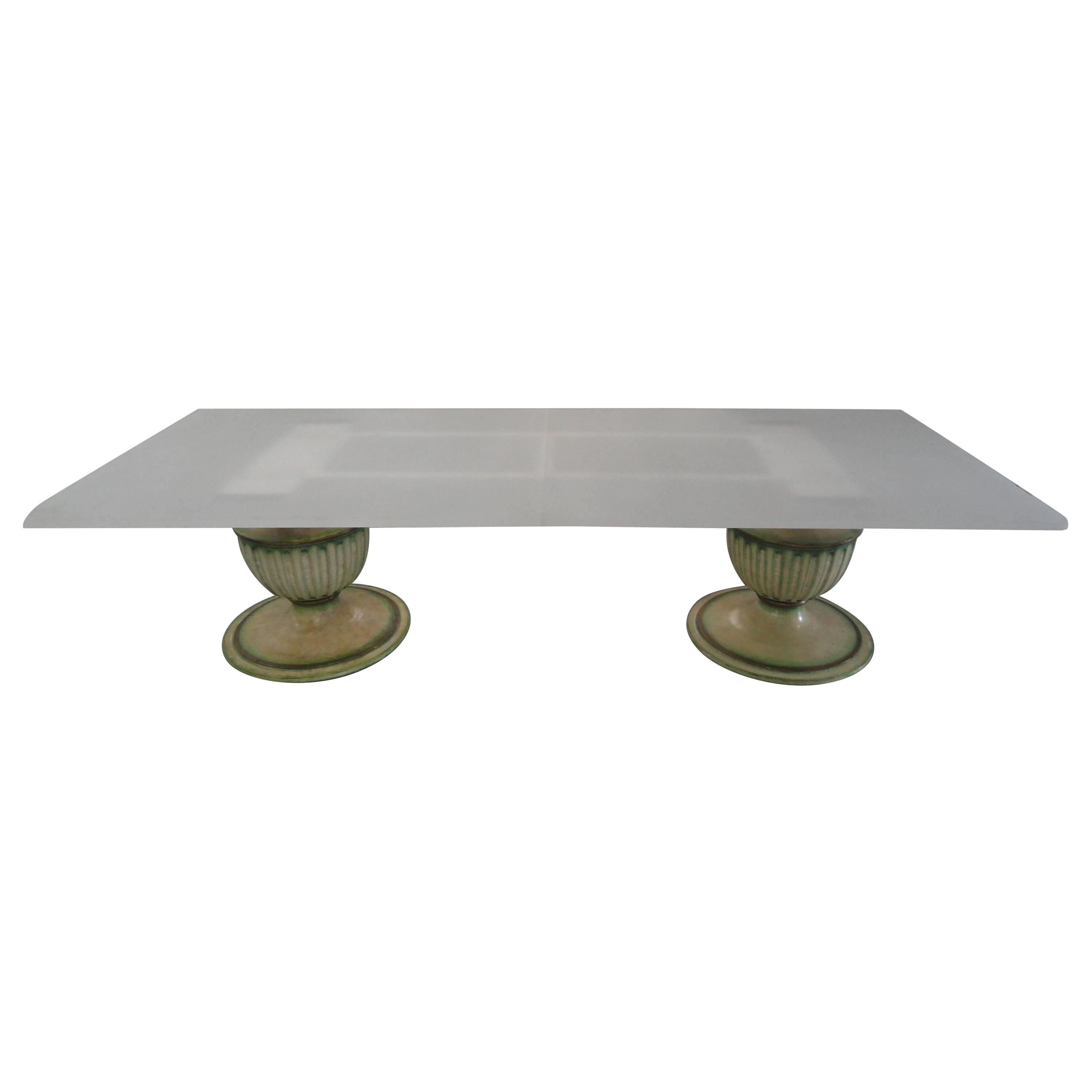 Palm Beach Double Pedestal Dining Table