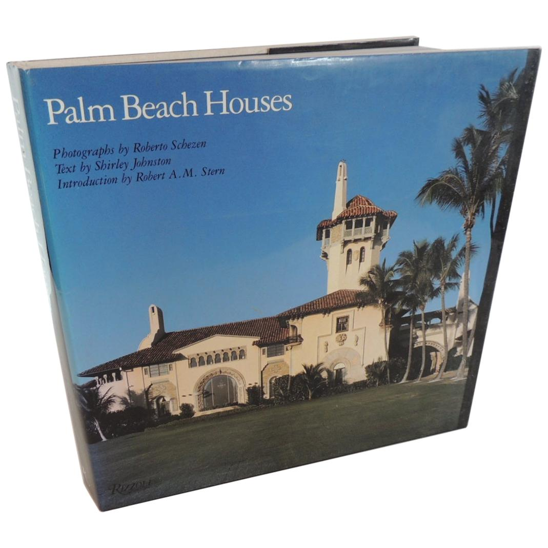 Palm Beach Houses Hard-Cover Vintage Coffee Table Book