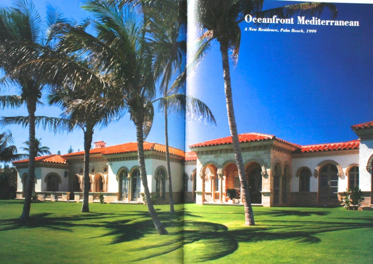 """""""Palm Beach Splendor, The Architecture of Jeffrey W. Smith"""" Signed First Edition For Sale 4"""
