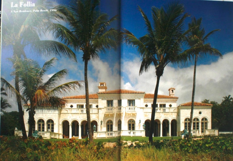 """American """"Palm Beach Splendor, The Architecture of Jeffrey W. Smith"""" Signed First Edition For Sale"""