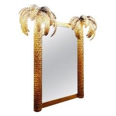 """Palm Mirror in Style of """"Maison Jansen"""""""