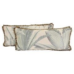 Palm Print Lumbar Pillow