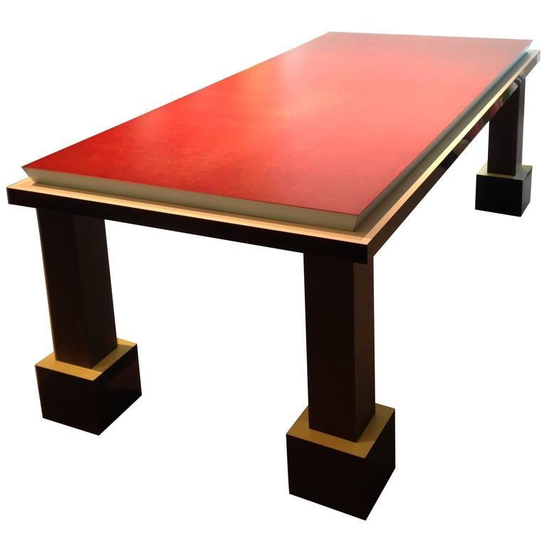 """Park Lane Coffee Table: """"Palm Spring"""" Table Or Desk By Ettore Sottsass For Sale At"""