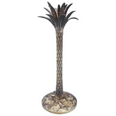 Palm Tree by Tiffany & Co. Sterling Silver Candlestick Vermeil