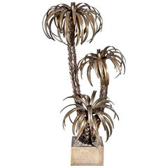 Palm Tree Floor Lamp Attributed to Maison Jansen